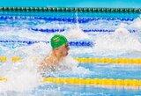 Lietuvos žiemos plaukimo čempionatas prasidėjo A.Šidlausko asmeniniu rekordu (+ kiti rezultatai)