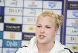 Lietuvos čempionato atrankos plaukimuose R.Meilutytę dukart aplenkė G.Grigonytė (D.Rapšys pagerino Lietuvos rekordą)