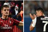 """Praėjusį sezoną """"Milan"""" gretose žibėjusio K.Piateko svajonė – rungtyniauti kartu su C.Ronaldo"""