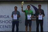 Į Tokijo Olimpines žaidynes nusitaikęs R.Račinskas antrą kartą šiemet iškovojo Baltijos šalių čempionato etapo auksą
