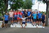 R.Navardausko taurės lenktynės: ant garbės pakylos – ir Lietuvos dviratininkai