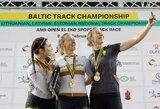 Lietuvos dviratininkams – 16 Baltijos treko čempionato medalių