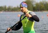 Europos baidarių ir kanojų irklavimo čempionate lietuviai sieks medalių