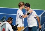 R.Federeris prieš rusą patyrė 16 metų neregėtą pralaimėjimą