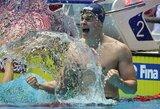 """Lietuvos """"torpeda"""": 350 m atsilikinėjęs D.Rapšys išplėšė aukso medalį!"""
