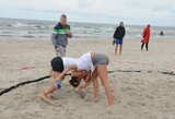 Smiltynėje surengtas atviras Lietuvos paplūdimio imtynių čempionatas