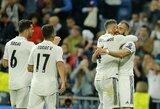 """Čempionų lyga: """"Real"""" pagaliau nutraukė nelaimėtų rungtynių seriją, """"Manchester City"""" laimėjo Ukrainoje"""