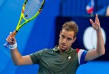 Prancūzijos teniso rinktinė antrą kartą istorijoje iškovojo Hopmano taurę