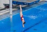 Šuolininkė į vandenį I.Girdauskaitė pasaulio čempionate aplenkė tris varžoves