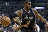 """""""Spurs"""" pasiuntė """"Nuggets"""" į pirmąjį pralaimėjimą"""
