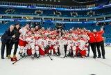 Olimpinėje ledo ritulio atrankoje – lenkų staigmena ir už borto likę britai