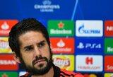 """Situacija """"Real"""" gretose nepatenkintas Isco nori keltis į Angliją"""