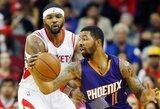 Noro palikti Fyniksą neslėpęs M.Morrisas sulaukė NBA bausmės