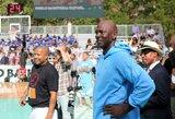 """Šūviai nutraukė krepšinio rungtynes NBA žaidėjų pamėgtoje """"Rucker Park"""" aikštelėje"""