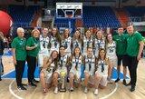 Didelį deficitą panaikinusiai Lietuvos kurčiųjų moterų krepšinio rinktinei – pasaulio čempionato sidabras