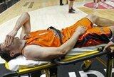 """Sunkią traumą patyręs """"Valencia"""" įžaidėjas šį sezoną jau nebežais"""