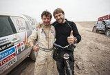 """B.Vanagas: ,,Dar negaliu sakyti, kad įveikiau antrą Dakarą"""""""