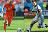Pasaulio čempionato pusfinalis: Olandija – Argentina