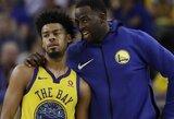 """""""Warriors"""" atradimu tapęs įžaidėjas tariasi dėl naujo kontrakto"""