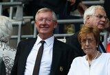 "A.Fergusonas sugrįš į ""Manchester United"" trenerių štabą"