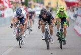 """Dviratininkė R.Leleivytė antrajame """"Giro Rosa"""" lenktynių etape – septinta"""