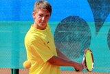 M.Bugailiškis ir J.Mikulskytė sėkmingai pradėjo ITF jaunių teniso turnyrą Serbijoje