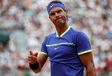 """R.Nadalis žengė pirmąjį žingsnį link dešimtojo """"French Open"""" titulo"""