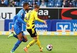 """M.Reuso įvartis padovanojo """"Borussia"""" pergalę prieš """"Hoffenheim"""""""