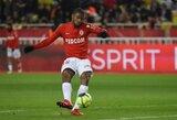 """Prancūzijoje """"Monaco"""" sutriuškino """"Ligue 1"""" čempionato vidutiniokus"""