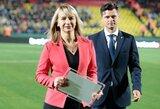 Už futbolo šventes – garbingas UEFA apdovanojimas
