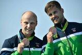 Tai bent gimtadienis: A.Lankas ir E.Ramanauskas iškovojo olimpinius bronzos medalius!