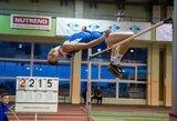 Šuolininkas į aukštį A.Glebauskas Vokietijoje pasiekė geriausią Lietuvos sezono rezultatą