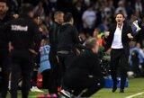"""""""Derby County"""" į """"Championship"""" finalą atvedęs F.Lampardas: """"Visi mus nurašė"""""""