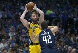 """Pacers"" rekordą pagerinęs D.Sabonis šventė pergalę prieš L.Dončičių"