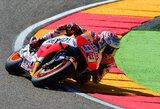 """Prie trečio """"MotoGP"""" čempiono titulo artėjantis M.Marquezas pirmas startuos Ispanijoje"""