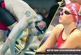 S.Bilis ir U.Mažutaitytė žiba JAV universitetų plaukimo varžybose