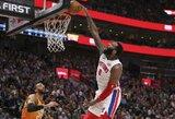 """""""Pistons"""" nori iškeisti A.Drummondą"""