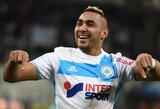 """Prancūzijos """"Ligue 1"""": nuostabus K.Mitrouglou ir D.Payet įvartis ir svarbi """"Olympique"""" pergalė"""