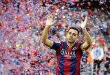 "S.Eto'o: ""Xavi turi tapti ""Barcelona"" treneriu, kol ten žaidžia futbolo Dievas"""
