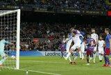 """""""Barcelona"""" 90-ąją minutę išplėšė dramatiškas lygiąsias su """"Granada"""""""