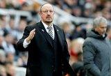 """R.Benitezas pripažino, jog """"Newcastle Utd"""" reikia stebuklo, jog išvengtų iškritimo į žemesnę lygą"""
