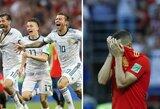Pamatykite: didžiulis Rusijos rinktinės džiaugsmas ir Ispanijos žaidėjų ašaros