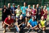 Vilniuje vyko mišrių dvejetų padelio turnyras