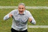 Brazilijos rinktinės treneris Tite už reklamas pasaulio čempionato metu greičiausiai uždirbs daugiau nei Neymaras