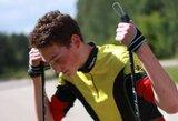 D.Demkovas pasaulio vasaros biatlono čempionato persekiojimo lenktynėse pagerino savo poziciją