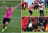 """""""Super Bowl"""" rungtynėse į aikštę išbėgo iššaukiančiai apsirengęs vyriškis: V.Zdoroveckis buvo sužavėtas"""