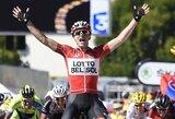 """Vienuoliktąjį """"Tour de France"""" etapą laimėjo T.Gallopinas, R.Navardausko komandos draugo viltys tapti čempionu žlugo"""