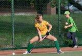 Lyderių rungtynėse Lietuvos moterų žolės riedulio rinktinė nugalėjo šveicares