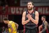 """""""AX Armani"""" susitvarkė su """"Maccabi"""" krepšininkais"""