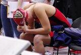 U.Mažutaitytę nuo Lietuvos plaukimo rekordo skyrė tik akimirka